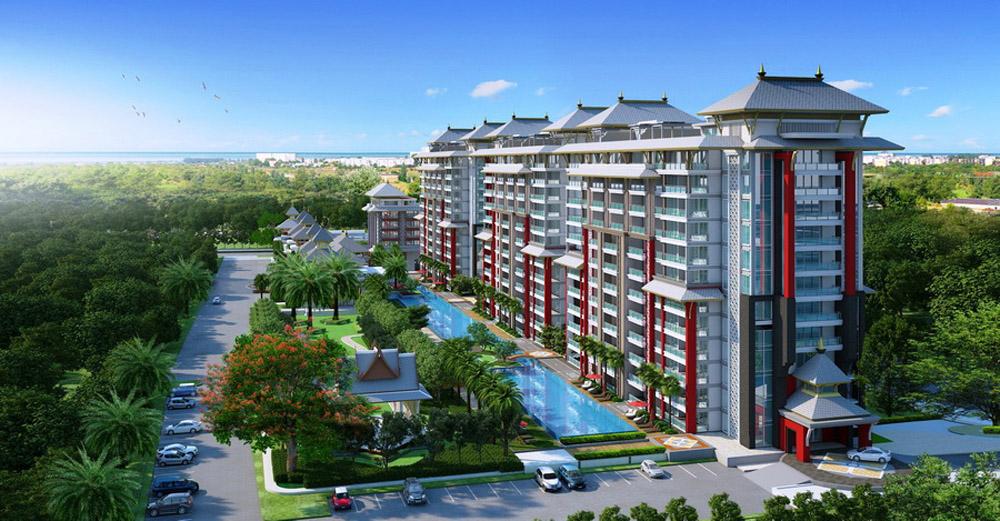 Ansicht Senioren Residenz in Hua Hin